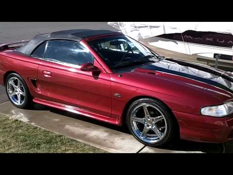 1995 Mustang Gt Convertible (Saleen Wheels)
