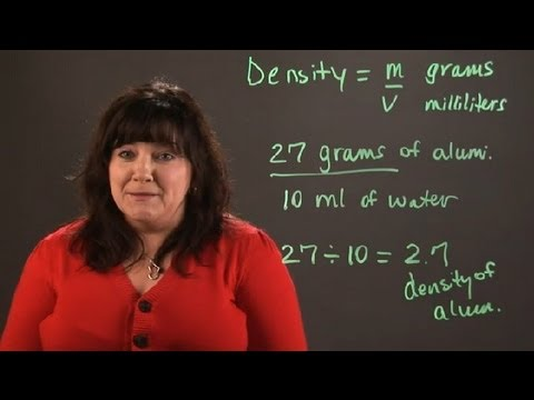 How to Calculate the Density of a Molecule : Chemistry and Physics Calculations