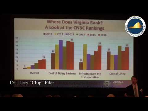 2016 Virginia Economic Summit - State of the Commonwealth Report Release