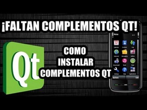 Instalar Complementos Qt En Nokia 5800,5530,5230,5233