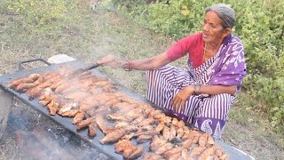 How To Cook 120 Small Fish Fry Recipe || Myna  InfoStreet Food || Food