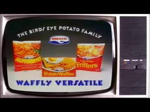 Birds Eye Potato waffles original TV advert entry for Eurovision DJ Electro Swingable Velvet Mix