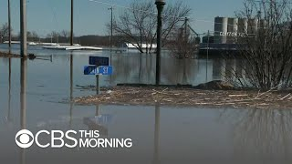 Download Nothing spared in parts of Iowa as flooding submerges homes, businesses Video