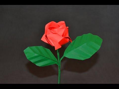Origami: Kawasaki Rose
