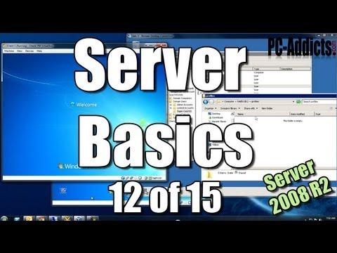 Server Basics (12) | Roaming Profiles - Windows 7
