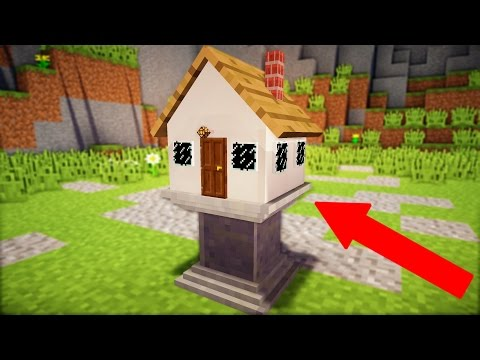 WORLD'S SMALLEST MINECRAFT HOUSE!