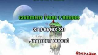 Karaoké - Lavoine & Marocco - J'ai tout oublié