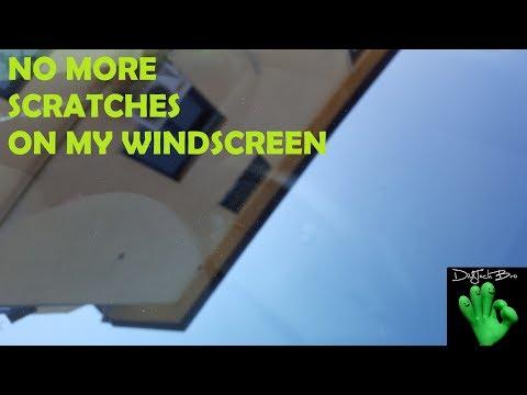 HOW TO POLISH CAR WINDOWS (WINDSHIELD, WINDSCREEN) I TUTORIAL