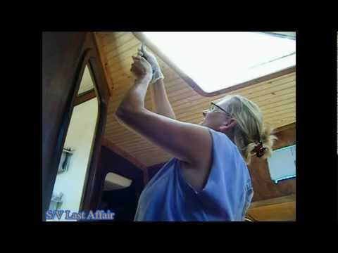 How To Remove & Install Wooden Bungs on your boat