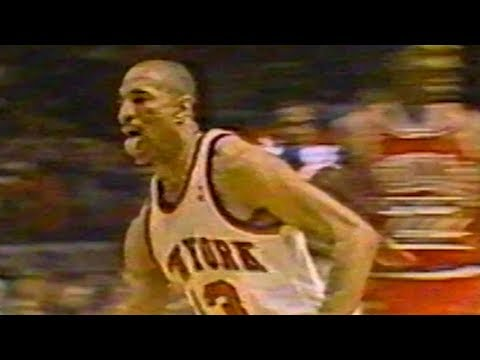 Mark Jackson Taunted Michael Jordan with His Tongue Out (1989 Eastern Semi-Finals Game 2)