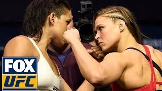 Ronda Rousey vs. Amanda Nunes | UFC 207 WEIGH-IN