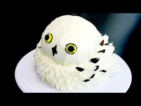 How to Make a HEDWIG Owl Cake from Harry Potter | RECIPE
