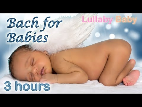 ✰ 3 HOURS ✰ BACH for Babies ♫ Air on the G String BACH ♫ Lullaby Baby Sleep Music