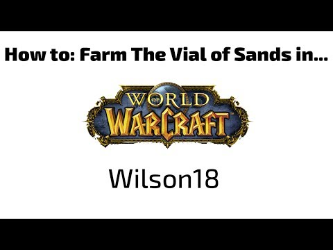 How to: The Vial of Sands --Intro