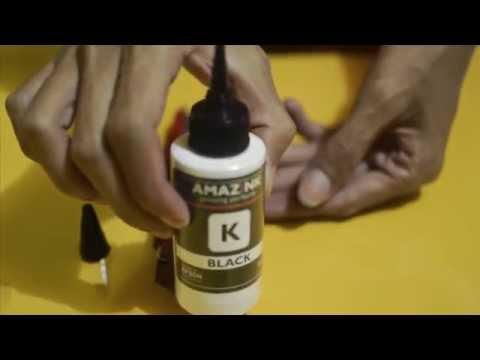 Cara Membuka Botol Tinta Printer AMAZiNK