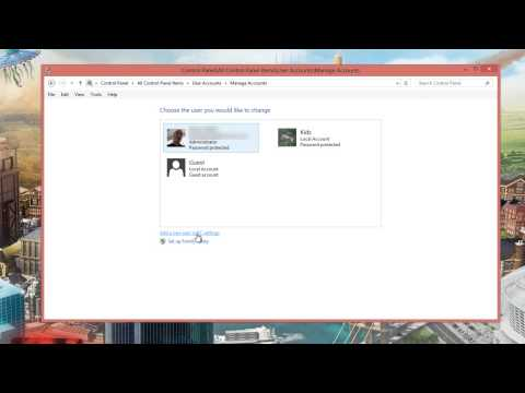 Windows 8 tip creating user accounts and checking user accounts