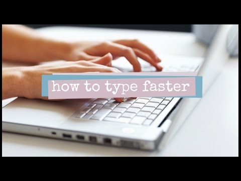 How to Improve Typing Speed // 2 Minute Study Tips
