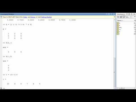 Colon Operator and Linspace/Logspace Function in MATLAB