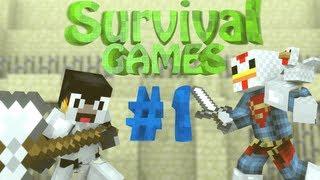 Minecraft: Hunger Games - Episode 1 - Death by Sticks!
