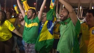 Brazil celebrates Olympic gold in men