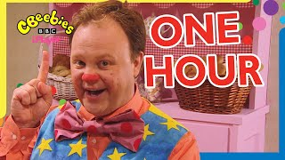 Mr Tumble's Big One Hour Compilation!   CBeebies