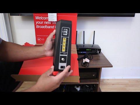 Virgin Media Broadband setup Hub 3.0