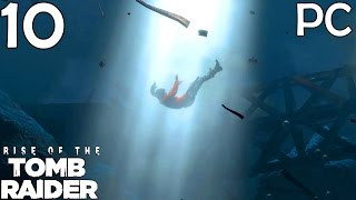 Rise Of The Tomb Raider Walkthrough Part 10 - Helicopter Escape