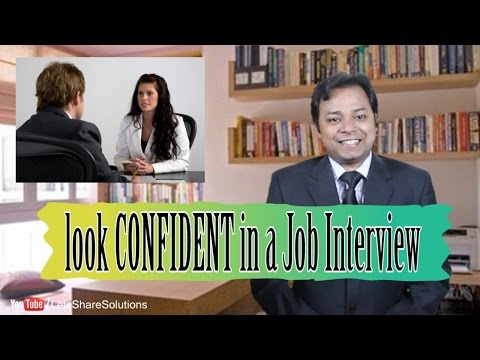 How to look CONFIDENT in a Job Interview | 7 Tips by Ashwani Thakur
