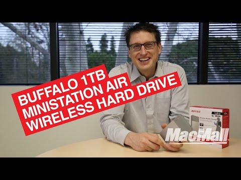 Buffalo MiniStation Air 1TB Wireless Hard Drive For Wireless Multimedia Streaming Overview – MacMall