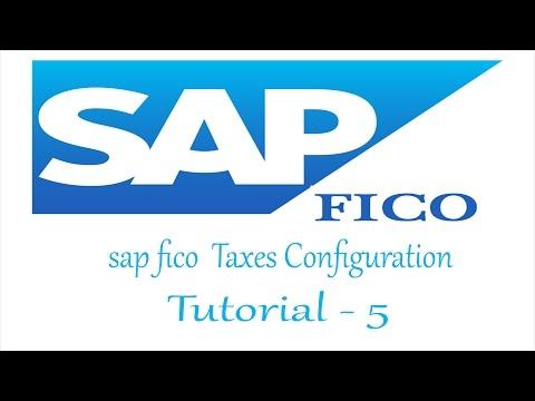 sap fico SAP Taxes Configuration tutorial for beginners