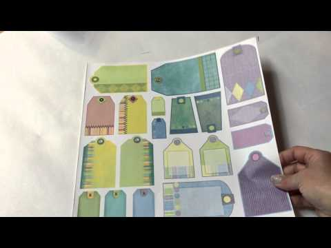 Make Your Own Scrapbook Paper Kit