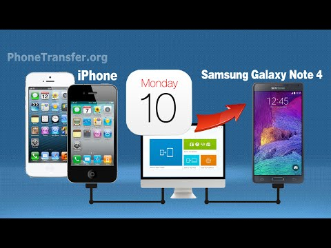 How to Transfer Calendar from iPhone to Galaxy Note 4, Sync iPhone Calendar with Samsung Note 4