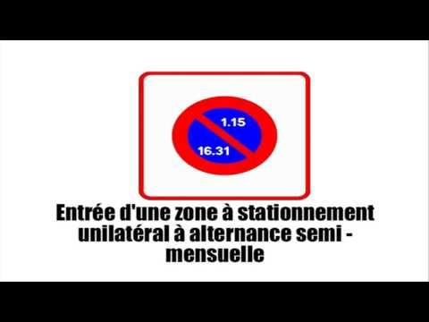 How to drive in France # Panneaux de prescription zonale