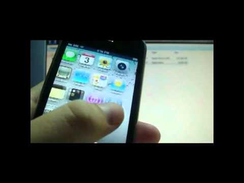 part 1 Jailbreak/Unlock iphone 3G/3Gs firmware 4.1 baseband 06.15.00