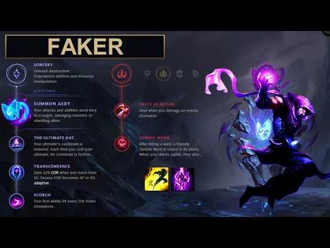 SKT Faker Build Malzahar - New Runes Season 8 solo vs Taliyah (League of Legends Guide)
