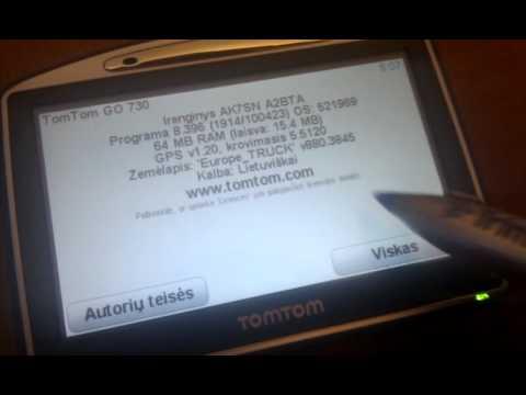 TomTom device code