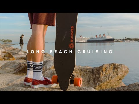 Boosted Boards | Long Beach Cruising