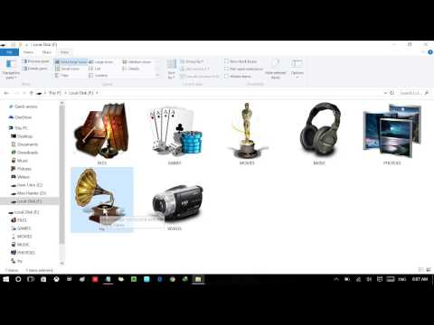 How To Create Permanent Icon On External Hard Drives or Pen Drive