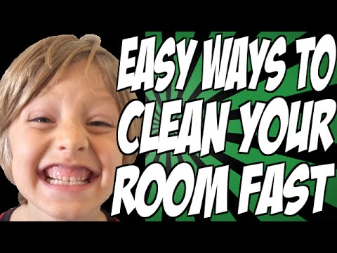 Easy Ways to Clean Your Room Fast
