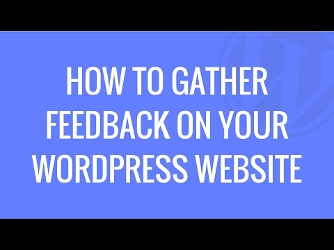 How to setup a feedback pop-up on your WordPress website