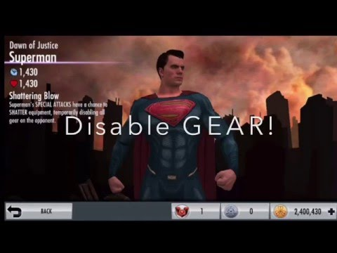 Dawn of Justice SUPERMAN Injustice Mobile First Look!