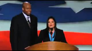 DNC 2012 - Obamas Brother & Sister speak