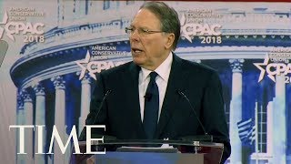 NRA CEO Wayne LaPierre Speaks About Gun Control At CPAC 2018: