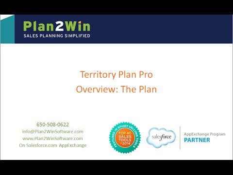 Territory Plan Pro: Generating Sales Territory Plans