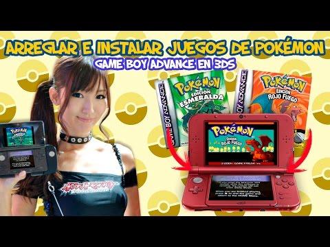 Arreglar e instalar juegos de Pokémon de Game Boy Advance en 3DS (Requiere AGB_FIRM parchado y CFW)