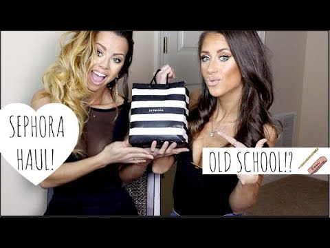 Do PEOPLE EVEN MAKE THESE ANYMORE??  SEPHORA HAUL!!!
