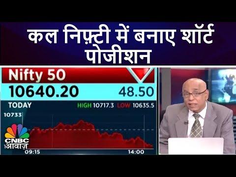 कल निफ़्टी में बनाए शॉर्ट पोजीशन   Prakash Gaba's View   29th May   CNBC Awaaz