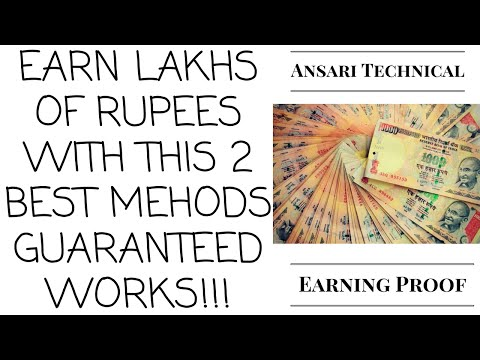2 Best Ways To Earn Money online in india or USA 2016 | 101% Genuine Work