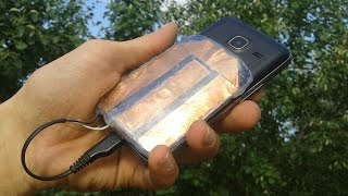 How to Make a Free Energy Emergency Mobile Phone Charger