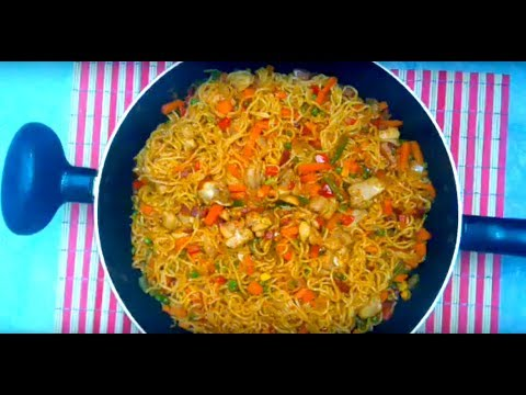 How To Make  Delicious Instant Noodles (Indomie)